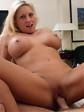 Cock starved MILF Cala goes out on a wild holiday and finds herself a younger guy