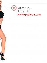 Blonde granny tube